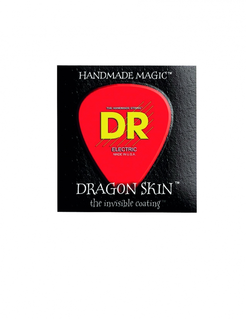 DR DRAGON SKIN - struny do gitary basowej, 6-String, Coated, Medium, .030-.125