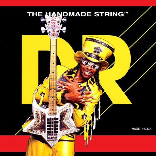 DR BOOTZILLAS - Bootsy Collins Signature struny do gitary basowej, 5-String, Medium, .045-125