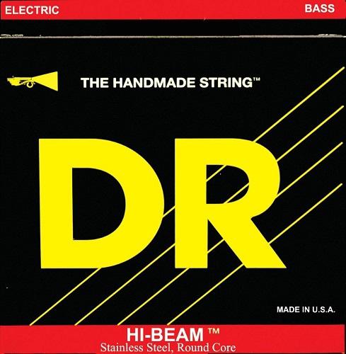 DR HI-BEAM - struny do gitary basowej, 5-String, Light, .040-.120