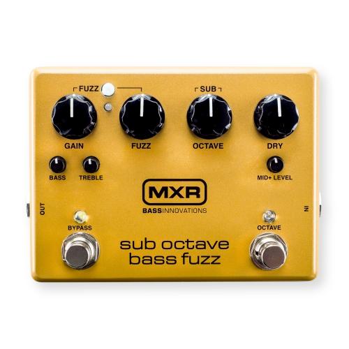 MXR M287 - Sub Octave Bass Fuzz efekt do gitary basowej