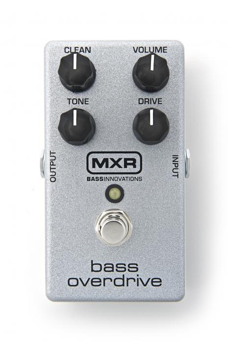 MXR M89 - Bass Overdrive efekt do gitary basowej