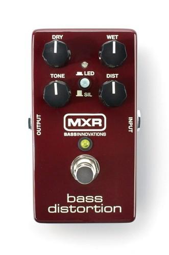 MXR M85 - Bass Distortion efekt do gitary basowej