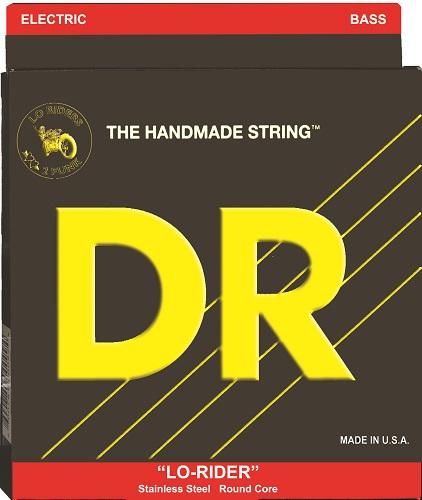 DR LO-RIDER - struny do gitary basowej, 4-String, Medium Light, .045-.100