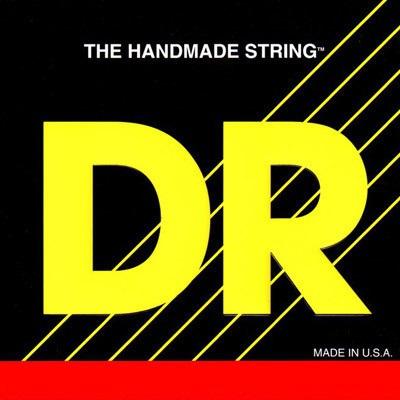 DR LONG NECKS - struny do gitary basowej, 4-String, Medium Light, .045-.100, Tapered