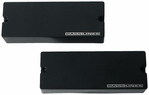 Seymour Duncan SB 5 SET Passive Soapbar, 5-strun, przetworniki do gitary basowej, set, kolor czarny