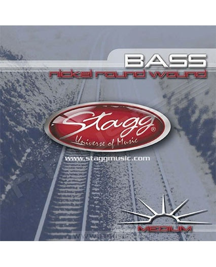 Stagg BA4500 struny do gitary basowej 45-100