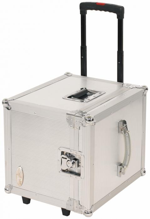 Rockcase RC-27165-A Flight Case - DJ Record Trolly for 100 Lps, futerał na płyty winylowe