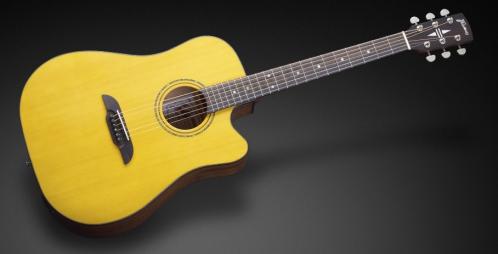 Framus FD 14 SV CE - Vintage Transparent Satin Natural Tinted + EQ gitara elektroakustyczna
