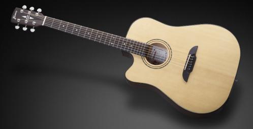 Framus FD 14 SV VNT CE L - Vintage Transparent High Polish Natural Tinted + EQ (Left-handed) gitara elektroakustyczna