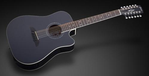 Framus FD 14 S - Solid Black High Polish + EQ (12-String) gitara elektroakustyczna