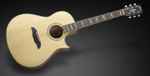 Framus FC 44 SMV - Vintage Transparent High Polish Natural Tinted + EQ gitara elektroakustyczna