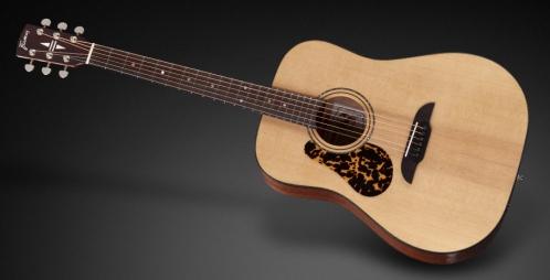 Framus FD 14 SV - Vintage Transparent Satin Natural Tinted (Left-handed) gitara akustyczna
