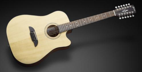 Framus FD 14 SV CE - Vintage Transparent Satin Natural Tinted + EQ (12-String) gitara elektroakustyczna