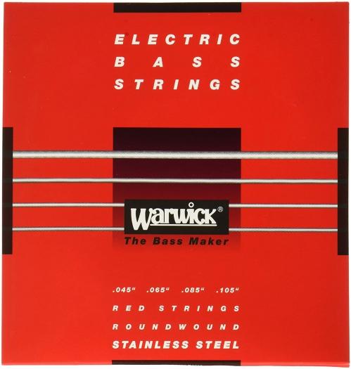 Warwick 42200 Red Lab Stainless Steel struny do gitary basowej 45-105