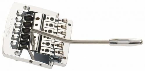 Kahler 2315 - Flat Mount Guitar Tremolo, Brass Cam, Steel Saddles - chromowany  mostek do gitary