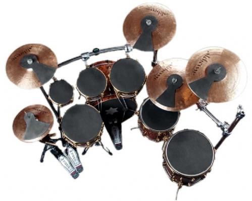 RockBag Drum Accessory - Silent Impact Tom Practice Pad, 15 cm / 6 in