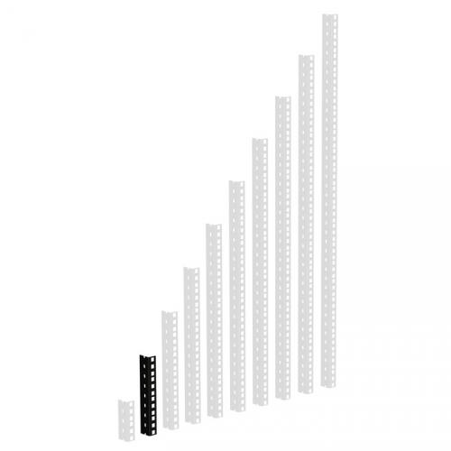 Adam Hall Parts 61535 B 4 - Szyna rack, czarna, 4U, wersja cika