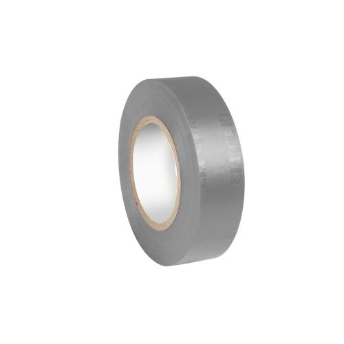 Adam Hall Accessories 580813 GREY - Taśma izolacyjna, 0,13 x 19 mm x 20 m, szara