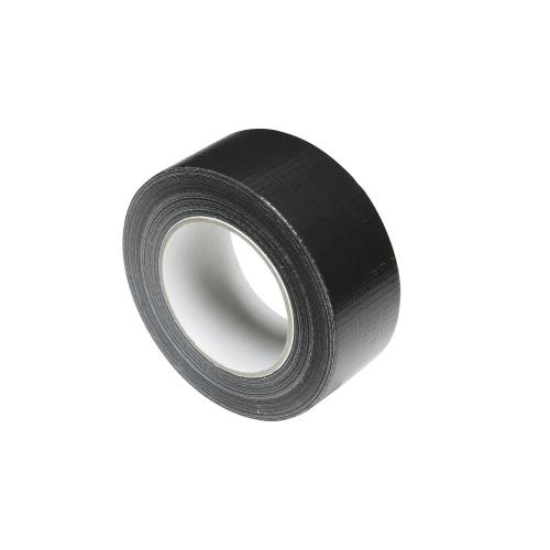 Adam Hall Accessories 58063 BLK - Taśma klejąca Gaffer Premium, czarna, 50 mm x 50 m