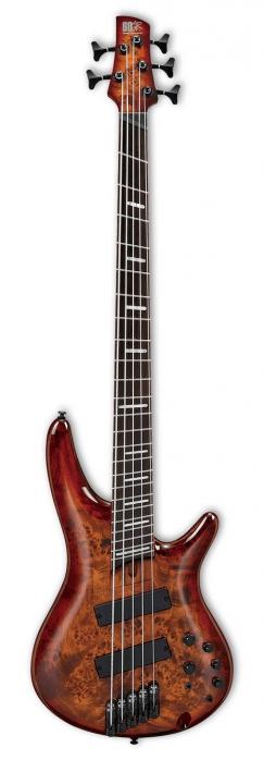 Ibanez SRMS805 BTT Brown Toppers Burst Multi Scale  gitara basowa