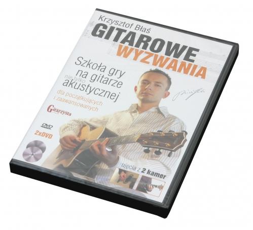 """AN Błaś Krzysztof """"Gitarowe wyzwania"""" DVDx2"""