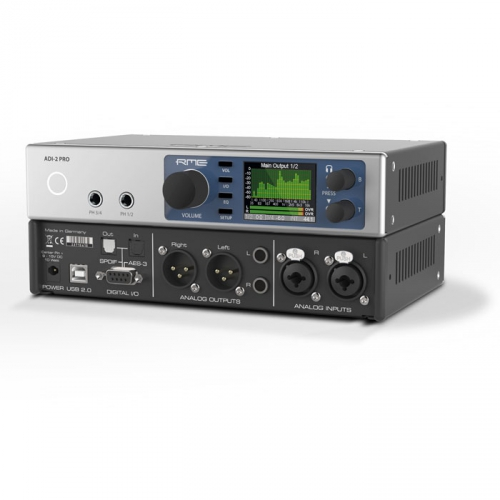 RME ADI-2 Pro przetwornik A/D-D/A, 24-bity/768kHz, interfejs audio USB