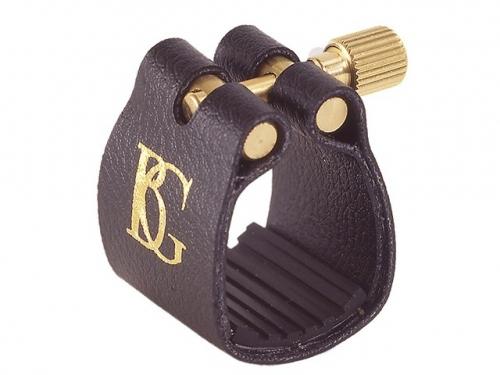 BG L14 Standard ligatura z ochraniaczem do saksofonu sopranowego