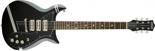 Gretsch G5135CVT-PS Patrick Stump Electromatic ″Stump-O-Matic″ CVT, Black with Pewter Stripes gitara elektryczna