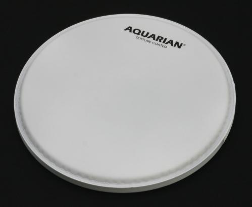 "Aquarian 8""TC Satin Texture Coated WH naciąg perkusyjny"