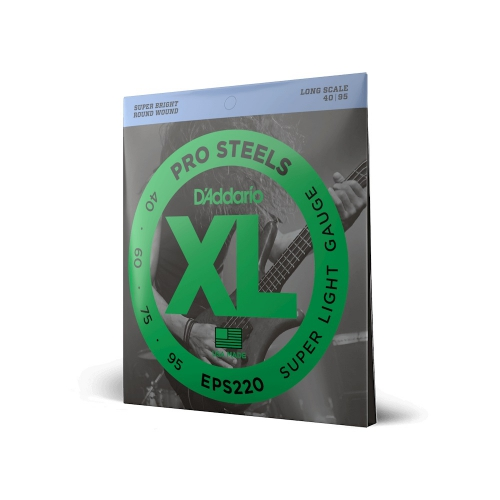 D′Addario EPS 220 Pro Steels struny do gitary basowej 40-95