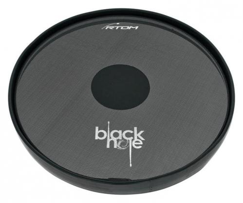 RTOM Black Hole 14″ siateczkowa nakadka wyciszajca do zestawu perkusyjnego