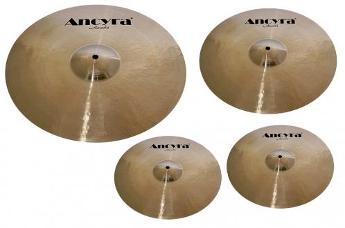 Amedia Ancyra Set  HH14, Cr16, R20 zestaw talerzy perkusyjnych