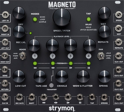 Strymon Magneto Tape Delay and Looper efekt do gitary elektrycznej
