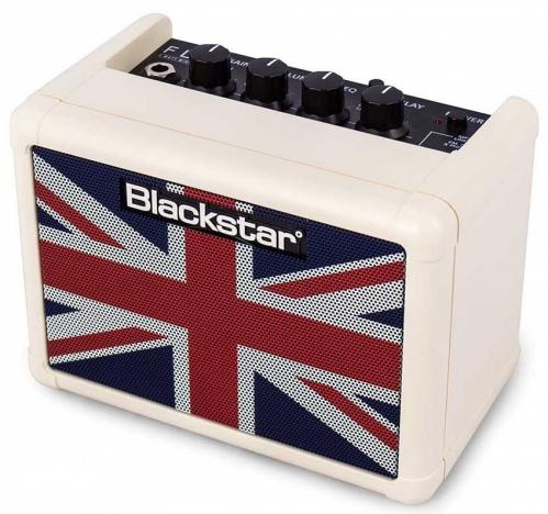 Blackstar FLY 3 Mini Amp Cream Union Jack Limited Edition combo gitarowe