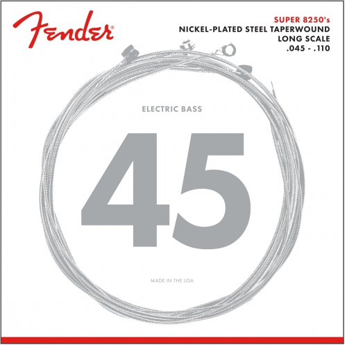 Fender NPS 8250 M 45-110TW  nickel plated struny do  gitary basowej 45-110