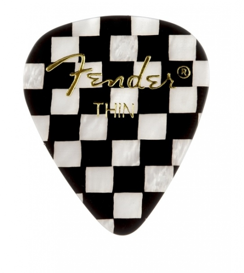 Fender Checker Thin Celluloid kostka gitarowa