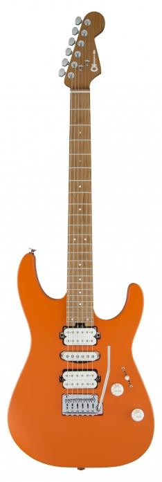 Charvel DK24 HSH 2PT CM Satin Orange Crush gitara elektryczna