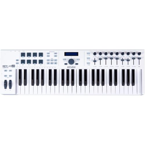Arturia Keylab 49 Essential klawiatura sterująca, kolor biały