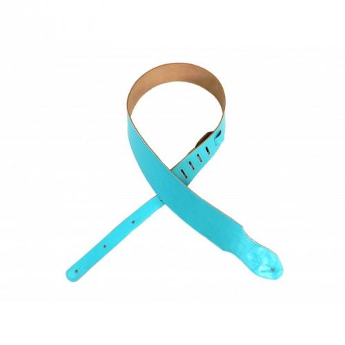 Belti GS18 Z5  pasek gitarowy skórzany niebieski