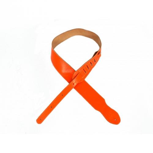 Belti GS18 Z6 pasek gitarowy skórzany pomarańczowy