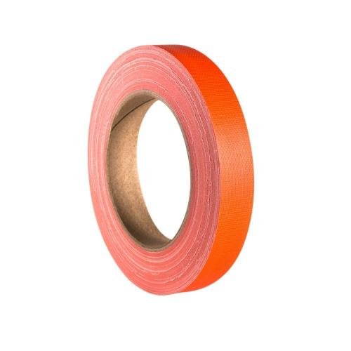 Adam Hall Accessories 58064 NOR - Taśma klejąca Gaffer, pomarańczowa neonowa, 19 mm x 25 m