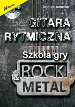 """AN Cyprian Naumiuk """"Gitara Rytmiczna"""" książka + CD"""