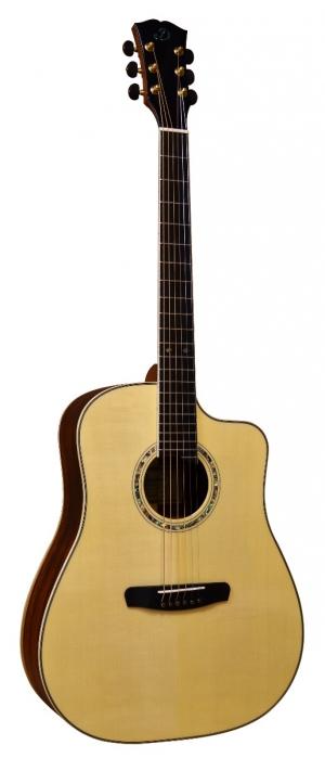 Dowina Cocobolo 3C DCE gitara elektroakustyczna z futerałem