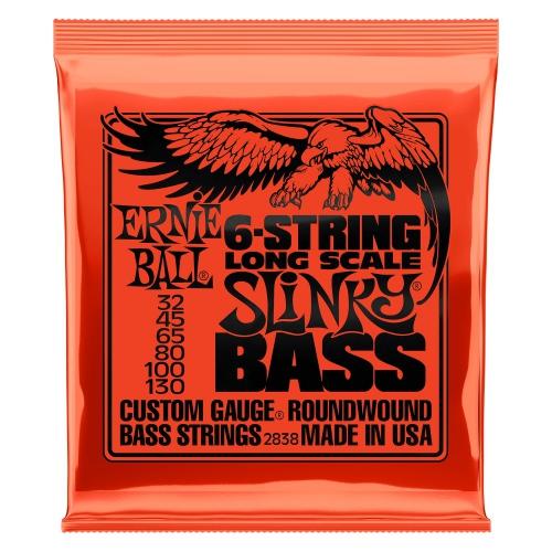 Ernie Ball 2838 NC 6's Slinky Bass struny do gitary basowej 32-130