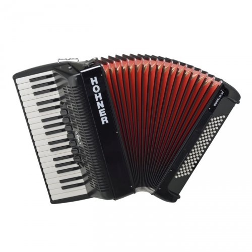 Hohner Bravo III 80 akordeon (czarny)