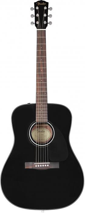 Fender CD-60 V3 DS Black WN gitara akustyczna