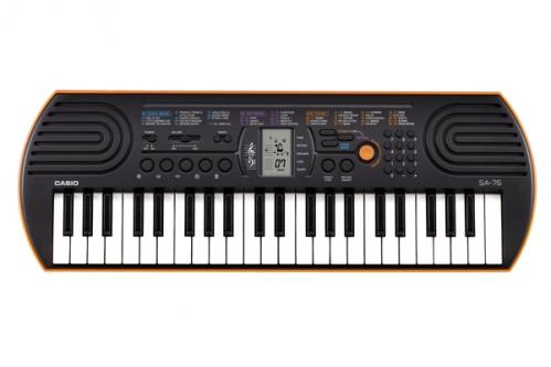 CASIO SA 76 keyboard