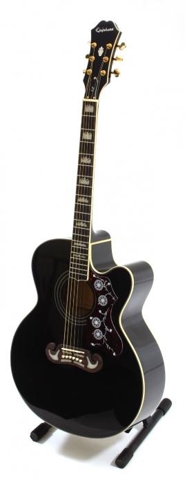 Epiphone EJ200 SCE BK Black gitara elektroakustyczna