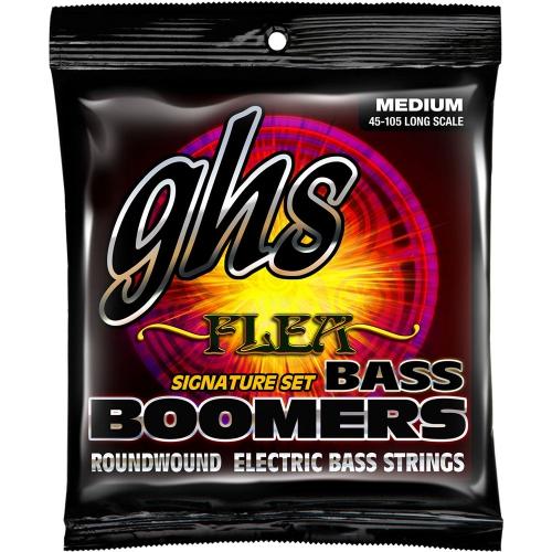 GHS M3045F Bass Boomers Flea SS struny do gitary basowej 45-105