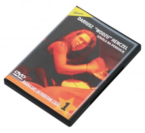 """AN Henczel Dariusz """"Szkoła na perkusję DVD1"""" (komplet)"""